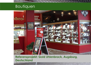 Boutique Gold Uhlenbrock Augsburg Referenz