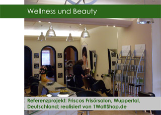 Wellness Beauty Friscos Frisörsalon Referenz