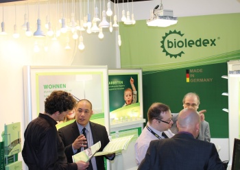 Die neuen Bioledex LED Produkte auf der Messe Light+Building 2014