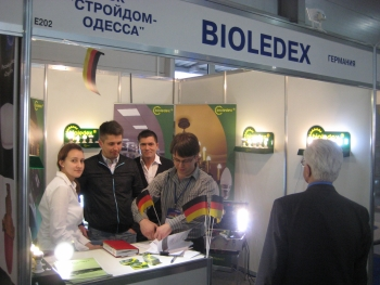 Bioledex Messe ELcom 2011