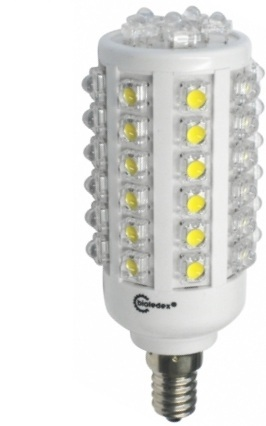 8 Watt Bioledex SuperFlux LED Birne E14